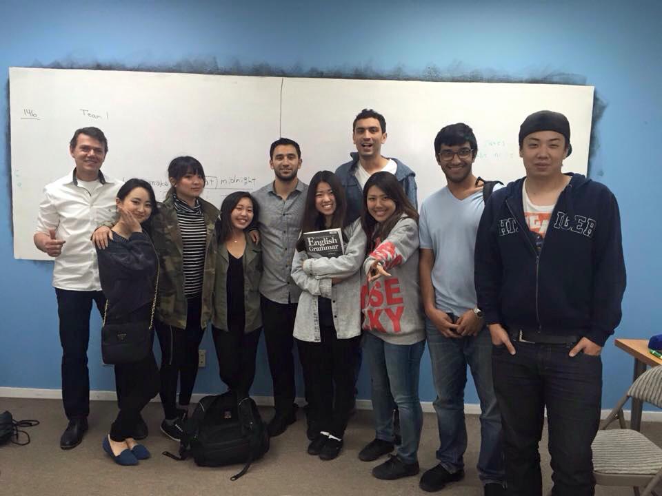 米山遥香さんのロサンゼルスへの語学留学中の様子