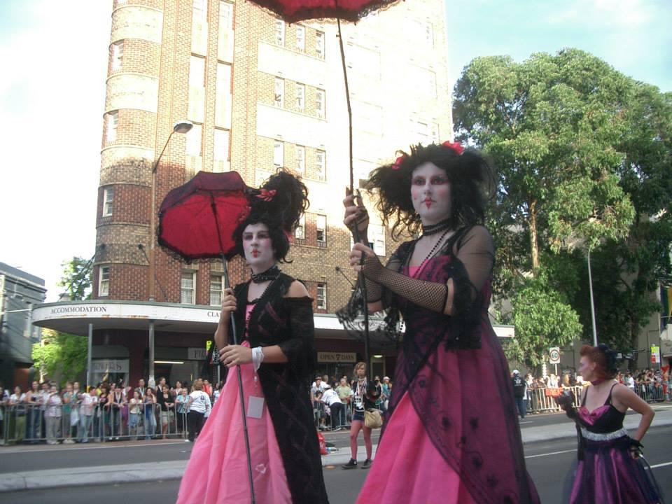 ゲイ・レズビアンが多い街。Mardigraというパレード