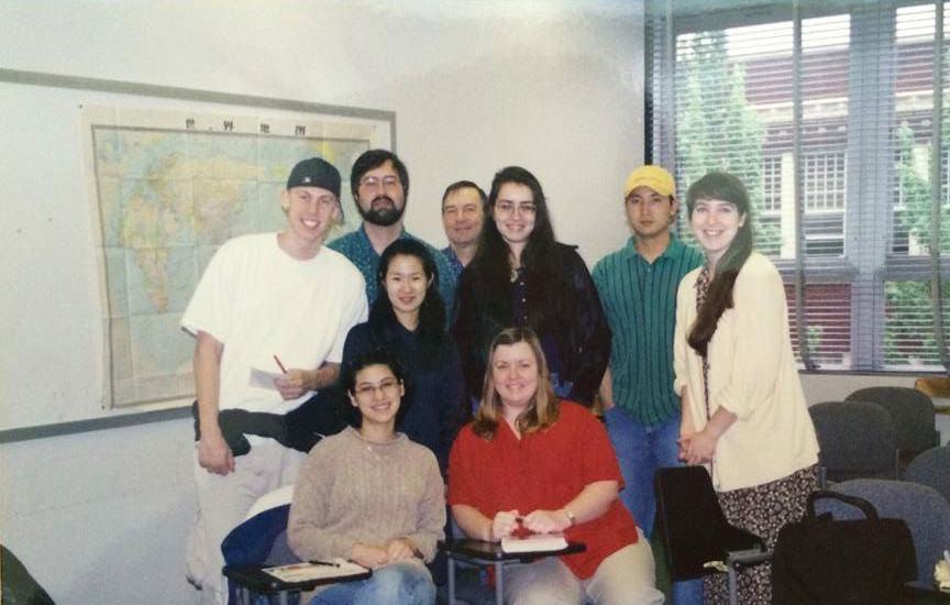 日本語クラスの学生と01