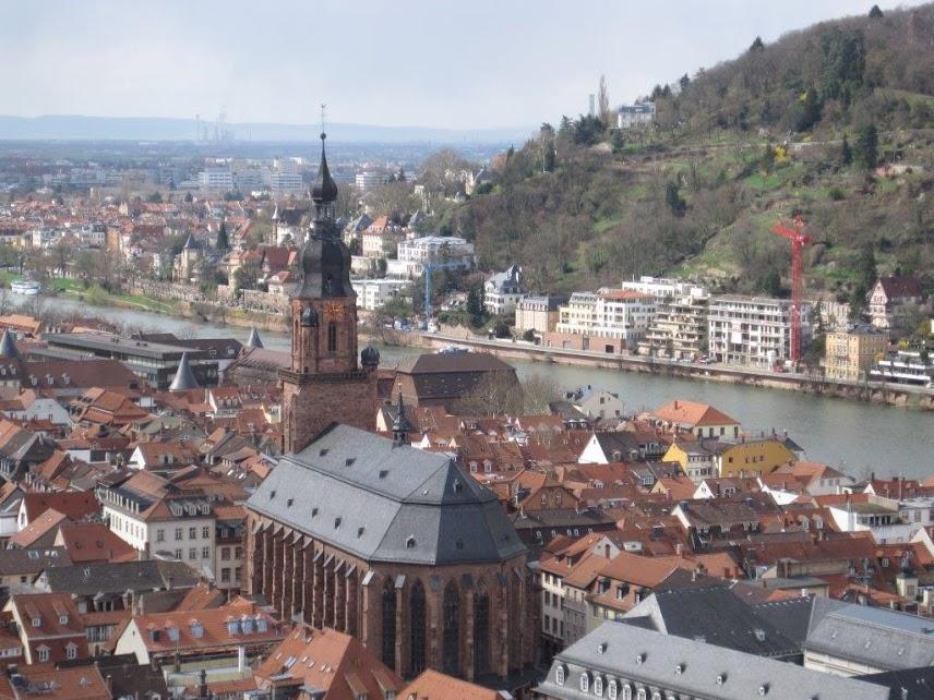 愛さんが留学前に憧れていたローテンブルクの風景
