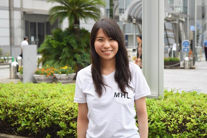 高校時代にデュースブルクの高校に交換留学プログラムで短期留学していた多葉田愛