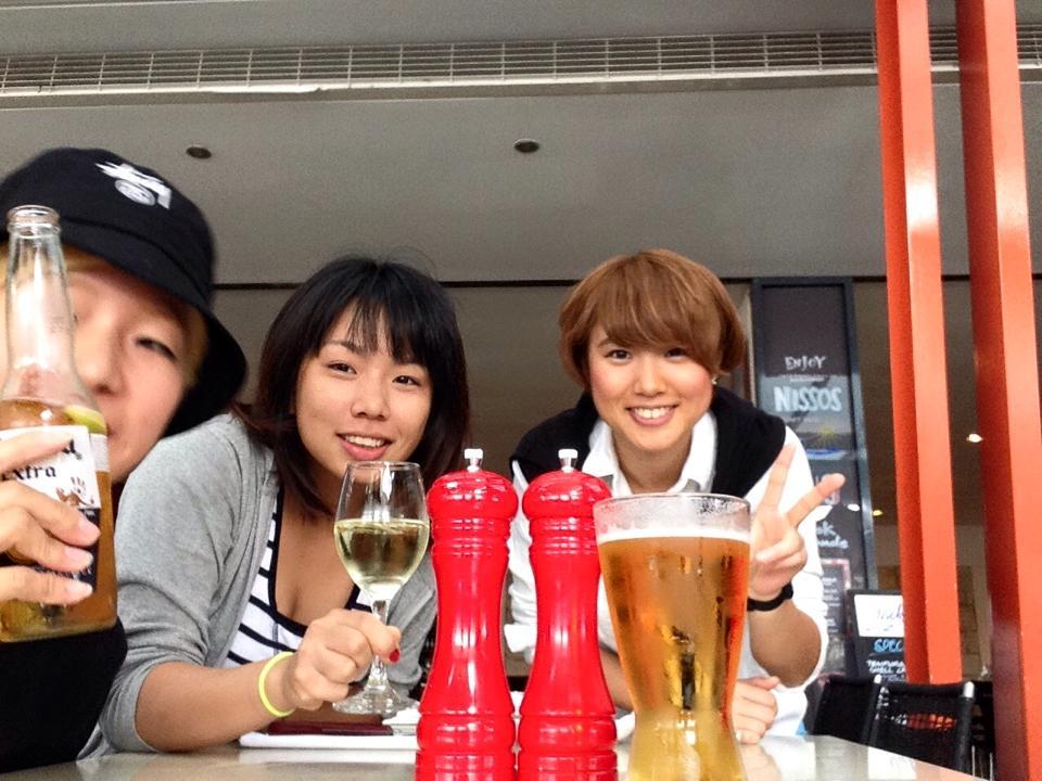 フィジーで同じ学校だった友人とオーストラリアで再会。