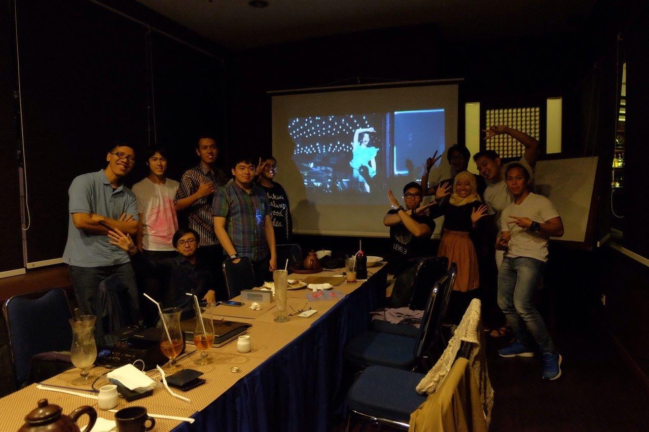 谷岡さんが開催したインドネシアPerfumeオフ会