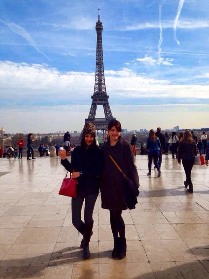 フランス留学中の由希さん