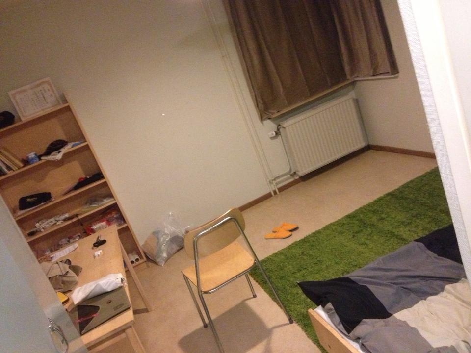 住んでいた寮の部屋