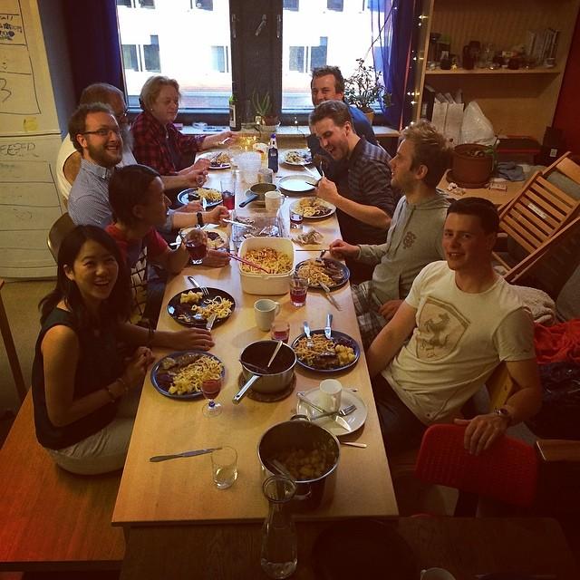 食事をした時の写真