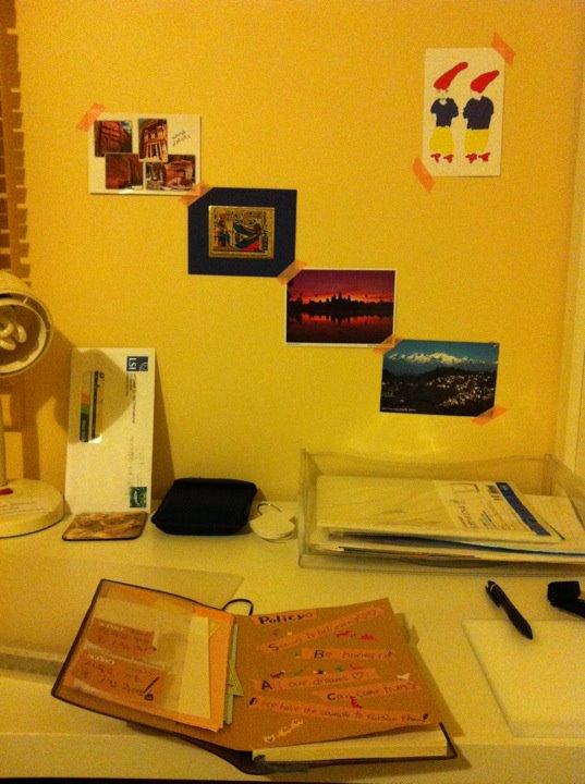 自分の部屋。