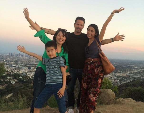 ロサンゼルスの親子留学で撮影した写真