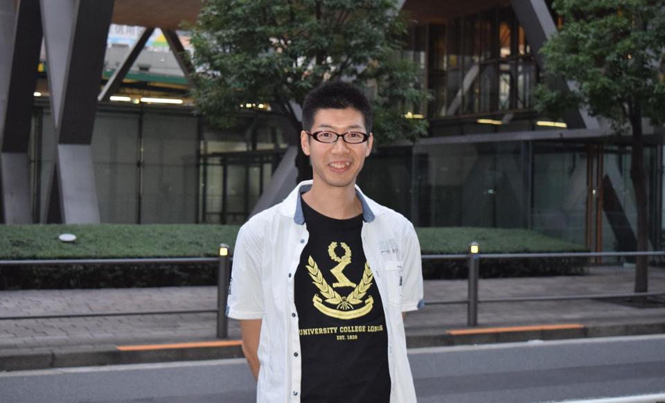 イギリスのロンドン大学に大学院留学されていた崎元大志さん