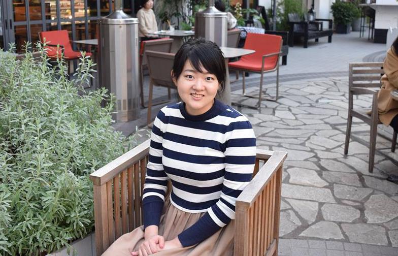 ワーホリ(YMS)でイギリスに行かれていた田村千菜美さん