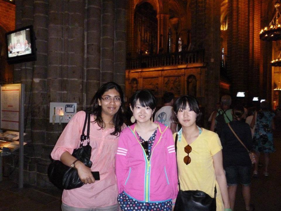 旅行で行ったバルセロナの写真