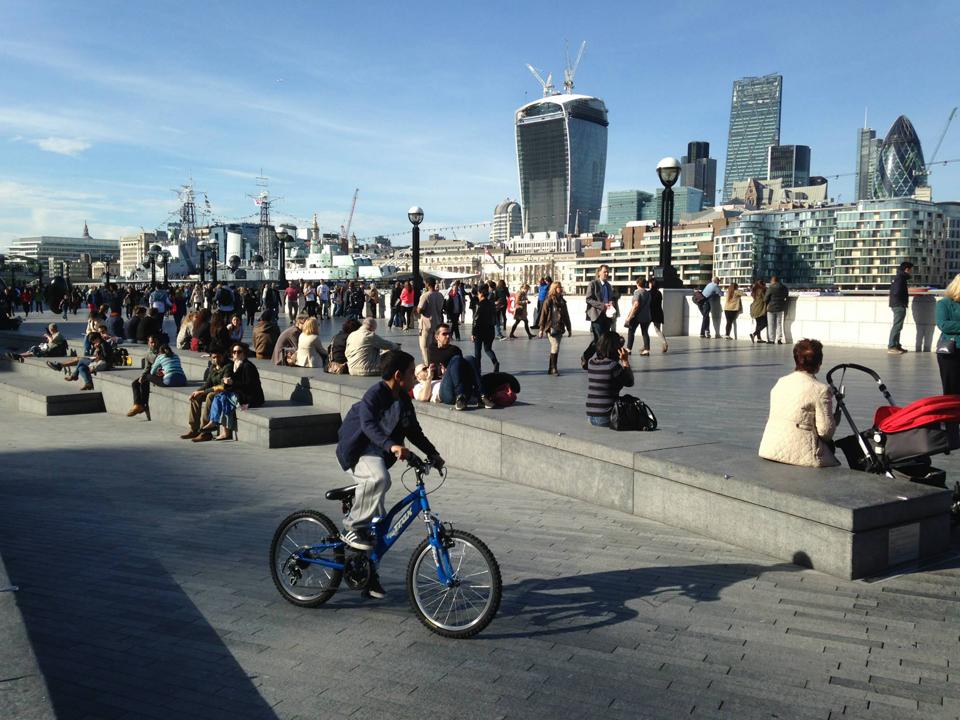 ロンドンの都心部の写真