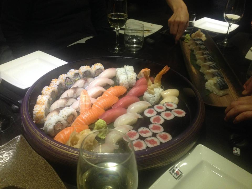 海外のお寿司イメージ写真