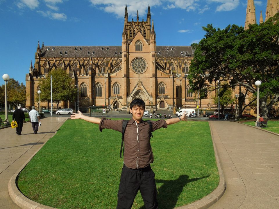2度目のオーストラリア留学中の写真