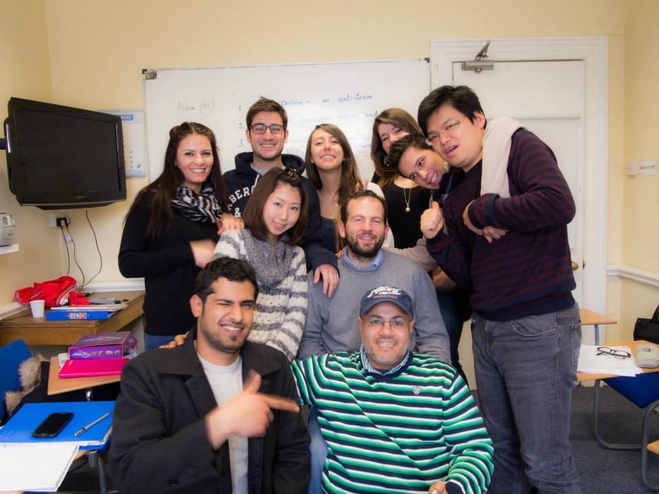 語学学校のクラスメイトたち