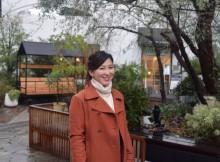 大学のプログラムで1年間ボストンに留学していた宮越真央さん。