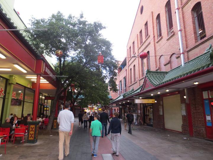 アデレードの中華街