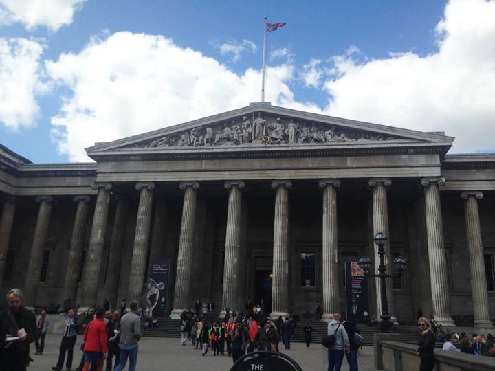 学校帰りによく言っていた大英博物館。