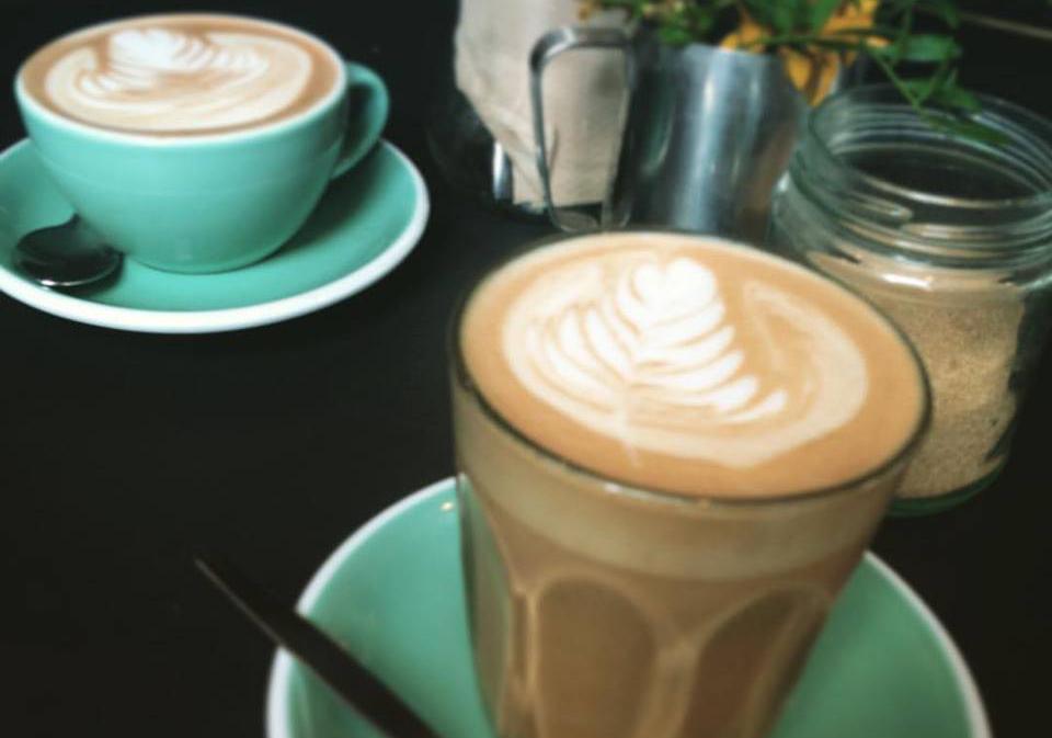 友人とよく行っていたカフェ。
