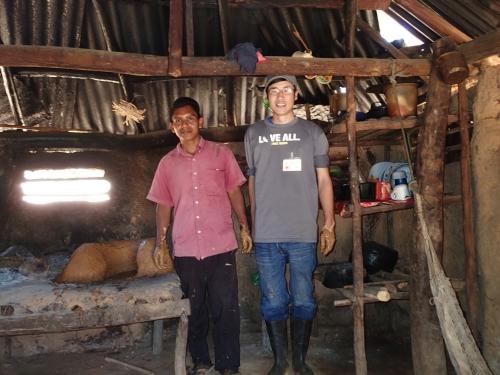 パナマで青年海外協力隊の隊員として活動していた宮﨑大輔さん