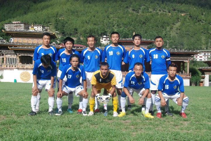ブータンのサッカーチーム