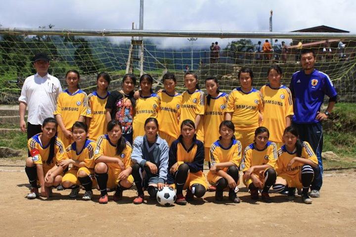 女子フットボールチーム