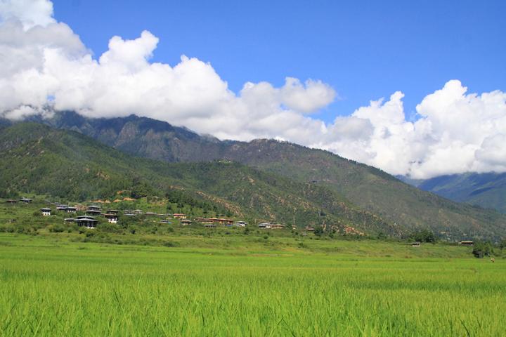 ブータンの大自然