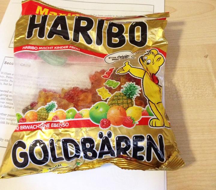 ドイツ旅行で買いだめしたヨーロッパで人気のお菓子ハリボー。