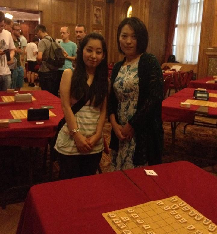 ハンガリーに小旅行。現地の将棋の大会を訪れた時。