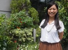 大学時代にカンボジアでインターンを経験した鹽井晴香さん