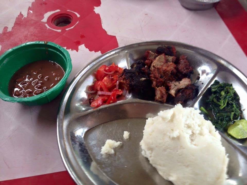 タンザニアのご飯。