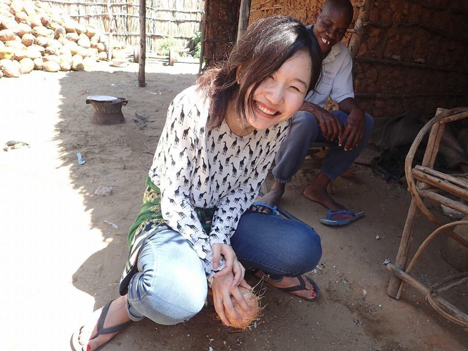 ムシンバティという水道も電気も通っていない村にお泊まりした時