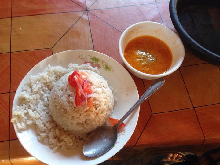 タンザニアで食べていた食事