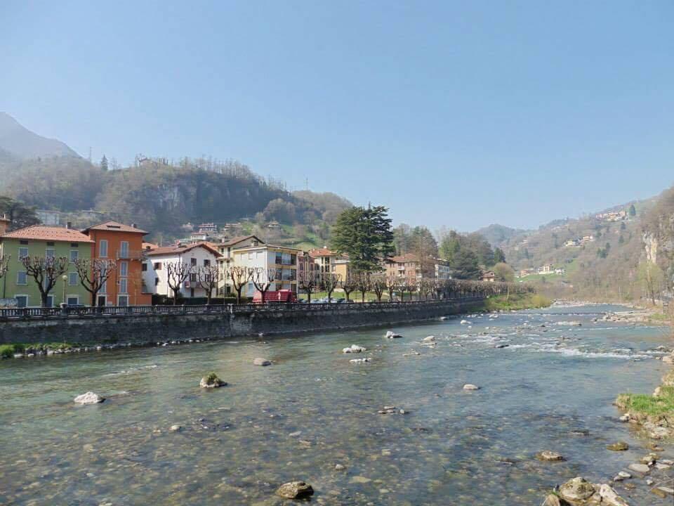 イタリア旅行中。サンペレグリーノにて。