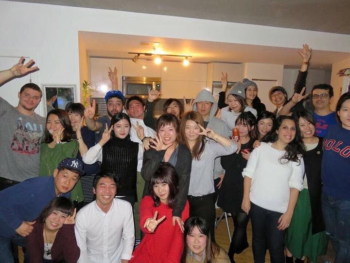 フェアウェールパーティー(お別れパーティー)