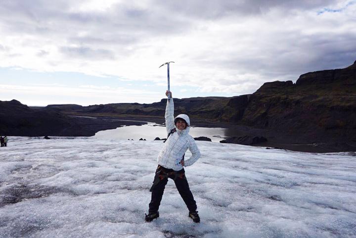 アイスランド旅行中。