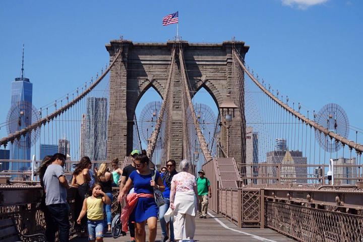 ニューヨーク旅行中。
